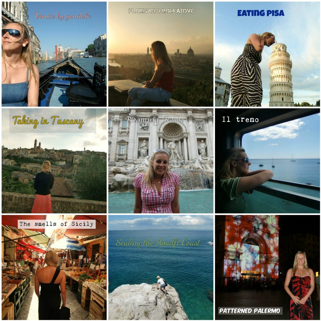 Italy Collage w text